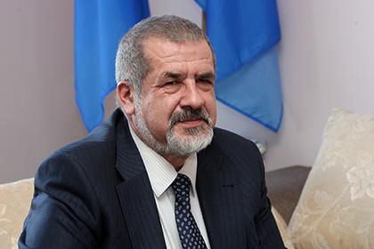 Чубаров поторопил Порошенко с передачей полуострова крымским татарам
