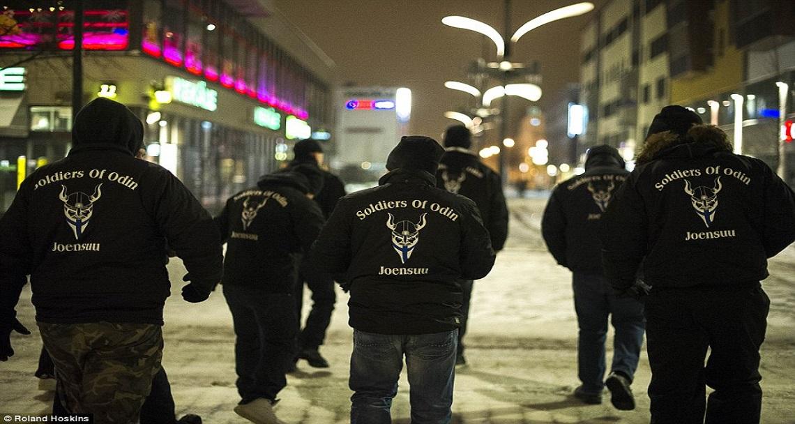"""В Канаде задержали троих членов организации """"Солдаты Одина"""""""
