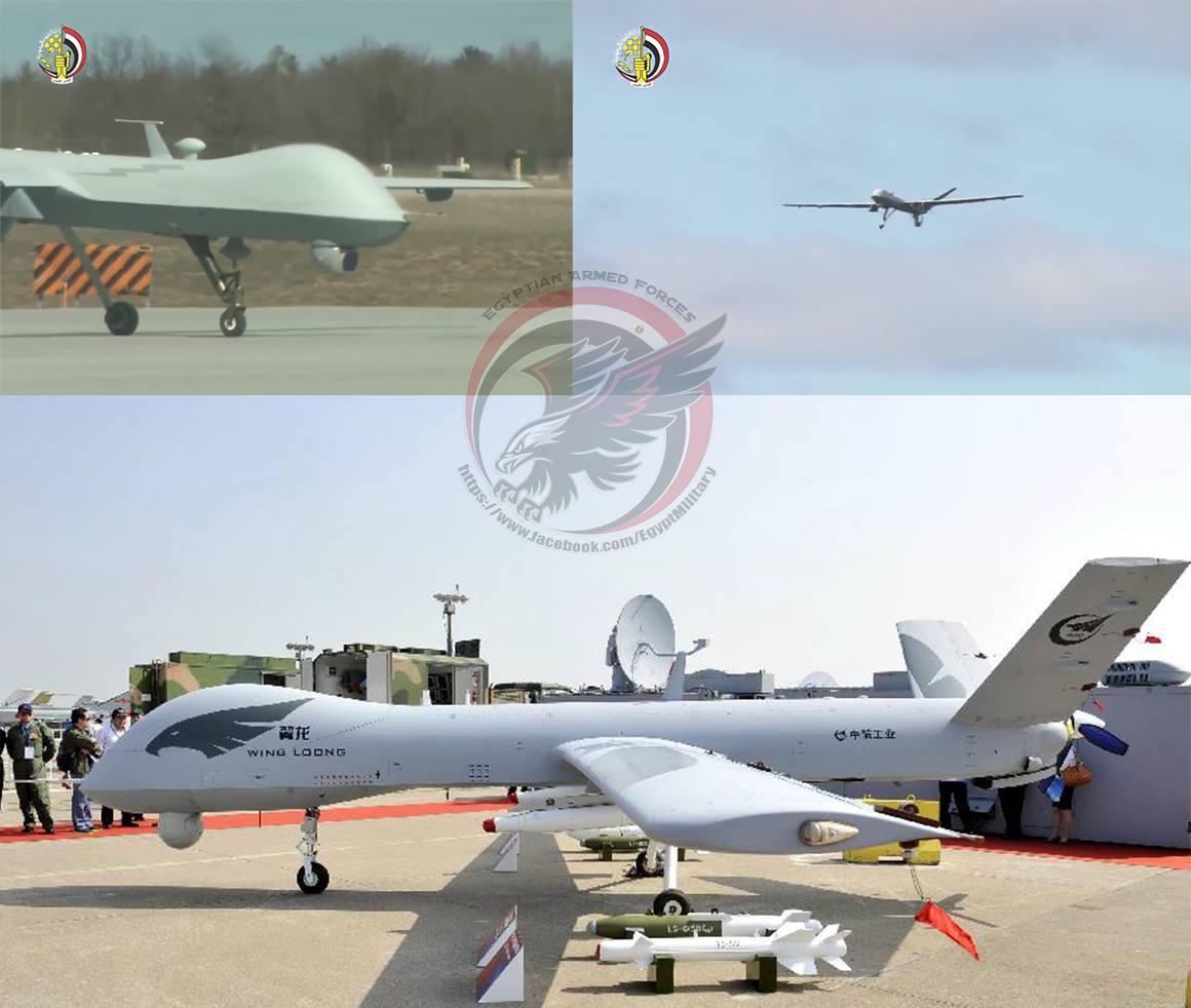 Египет получил китайские беспилотные летательные аппараты Pterodactyl I