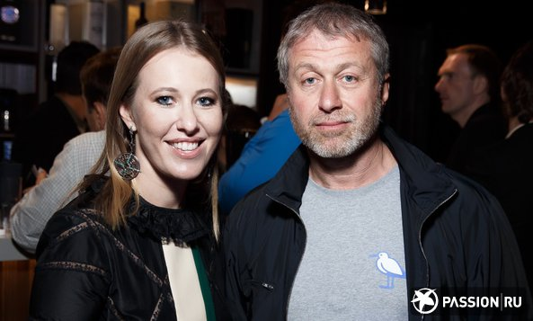 Ксения Собчак и Роман Абрамович на закрытой вечеринке «Кинотавра»