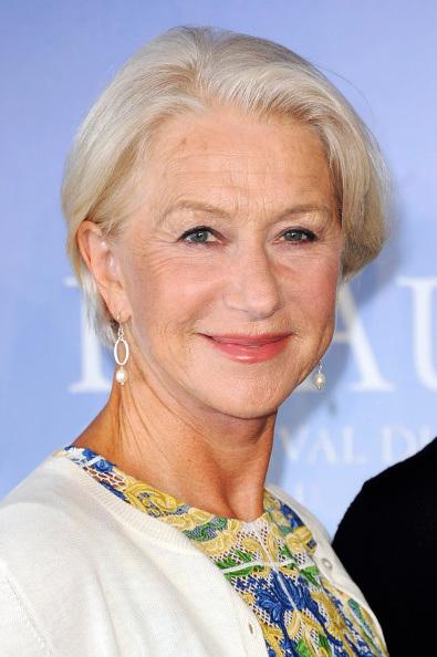 Хелен Миррен (Helen Mirren). Возраст: 69 лет. Компания: L'Oreal Paris UK.