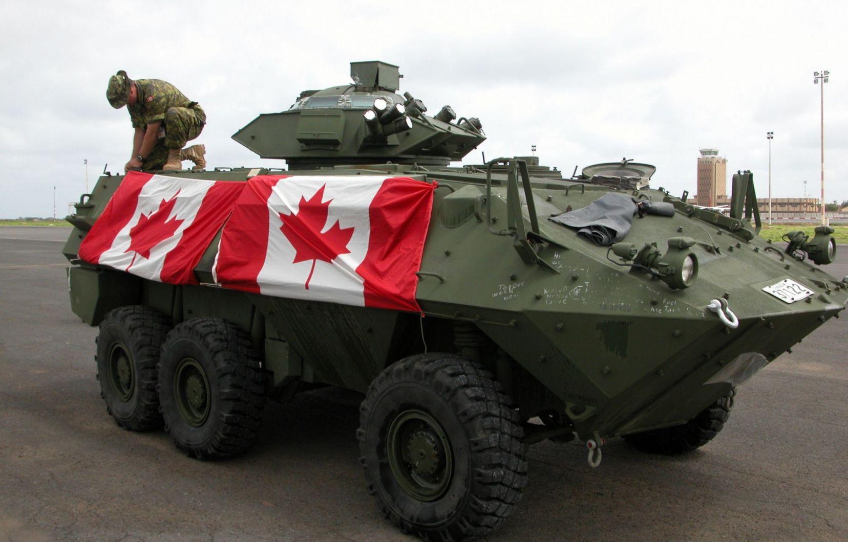 Канадская бронетехника для Украины