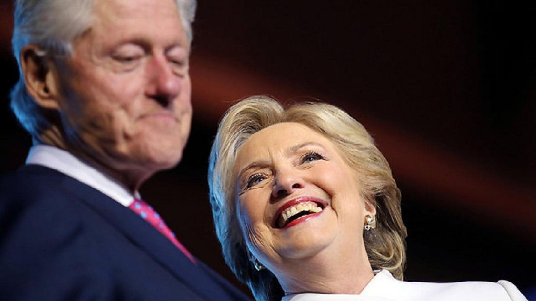 Хиллари Клинтон подала на развод?
