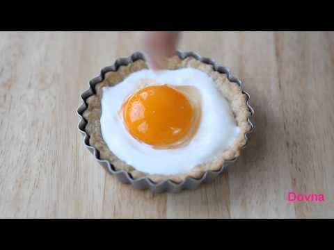 Яйцо запеченное в сметане