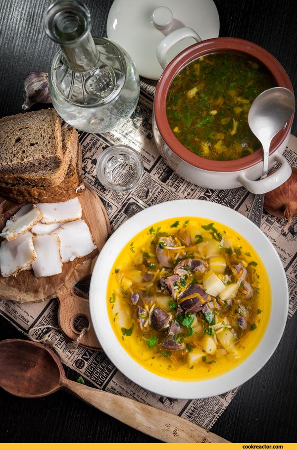 Суп с потрошками для Глеба Ж…