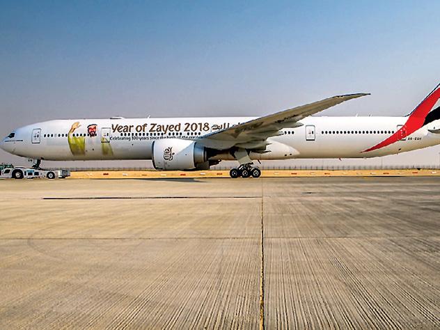 Emirates представила новый самолёт класса люкс