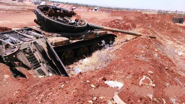 Бойня в пустыне: Атака ИГИЛ захлебнулась в крови,ВКС РФ уничтожили боевиков