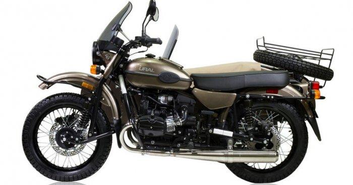 «Урал» выпустил эксклюзивный мотоцикл Ural Ambassador LE ограниченным тиражом