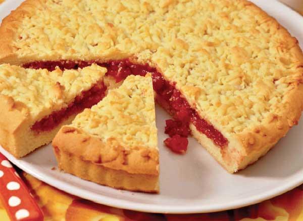 Вкусное и быстрое песочное тесто для пирога