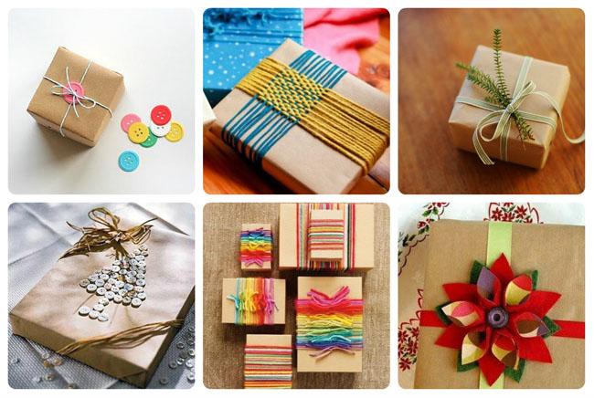 идеи упаковки новогоднего подарка, как упаковать подарок на новый год своими руками