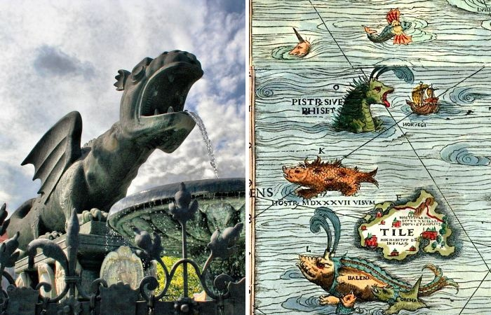 5 реальных мест, где можно увидеть знаменитых драконов Средневековья