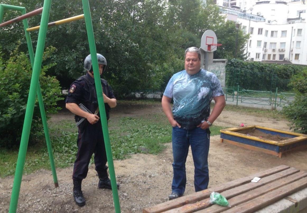 С автоматами на детей: в Екатеринбурге ТСЖ вызвало охрану, чтобы прогнать детсадовцев из парка