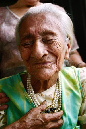 Все долгожители едят умеренно