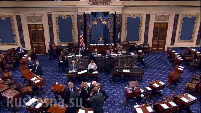 Американские сенаторы хотят заблокировать отмену санкций против России