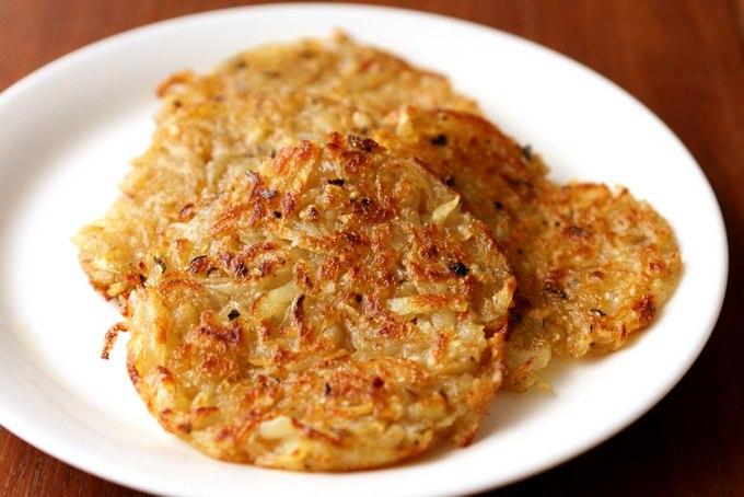Жареный картофель рёшти