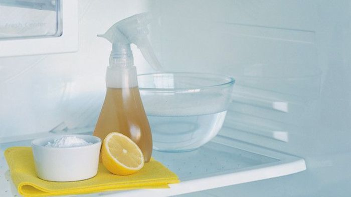 Уксус, сода и лимон хорошо борются с загрязнениями и запахами