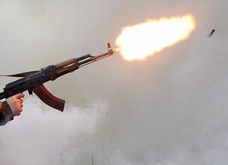 Герой АТО открыл огонь по полковнику, мешавшему бухать на боевой позиции