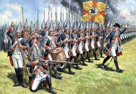 Битва при Фрауштадте. 13 февраля 1706 г. Забытый подвиг русских солдат