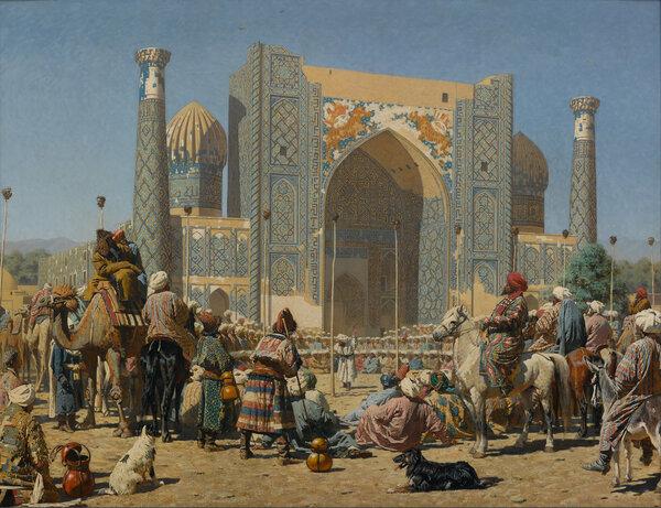 © Василий Верещагин, «Торжествуют», около 1872 года Государственная Третьяковская галерея