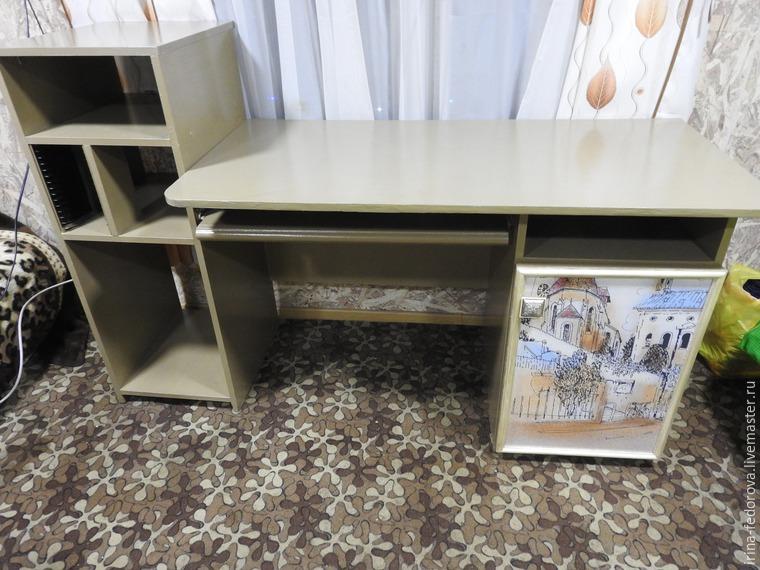 Преображение дачного компьютерного стола