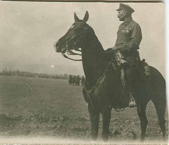 Как наши кавалеристы порубили три румынских полка