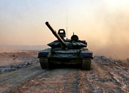 В Сети появилось видео с передвижением «десятков российских танков» к Украине