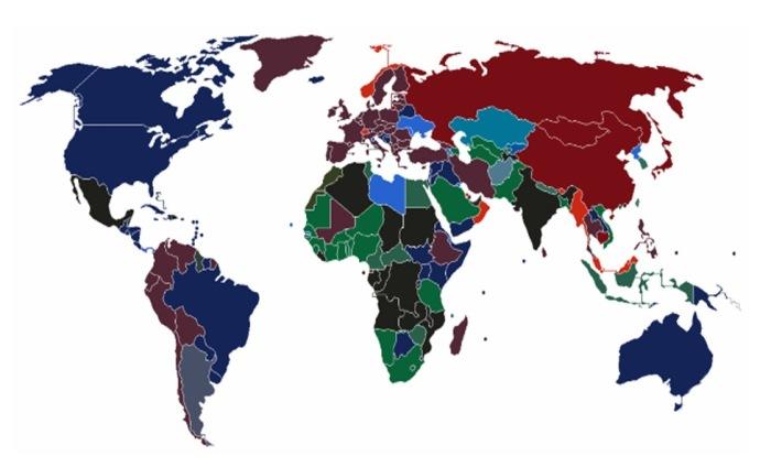 Карта паспортов.  Фото: www.arabtrvl.com