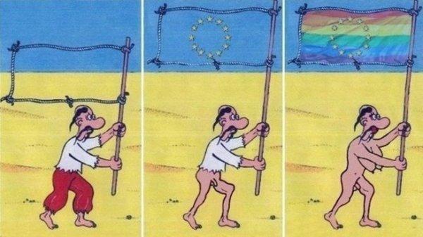 Письмо фрау Меркель от украинской общественности
