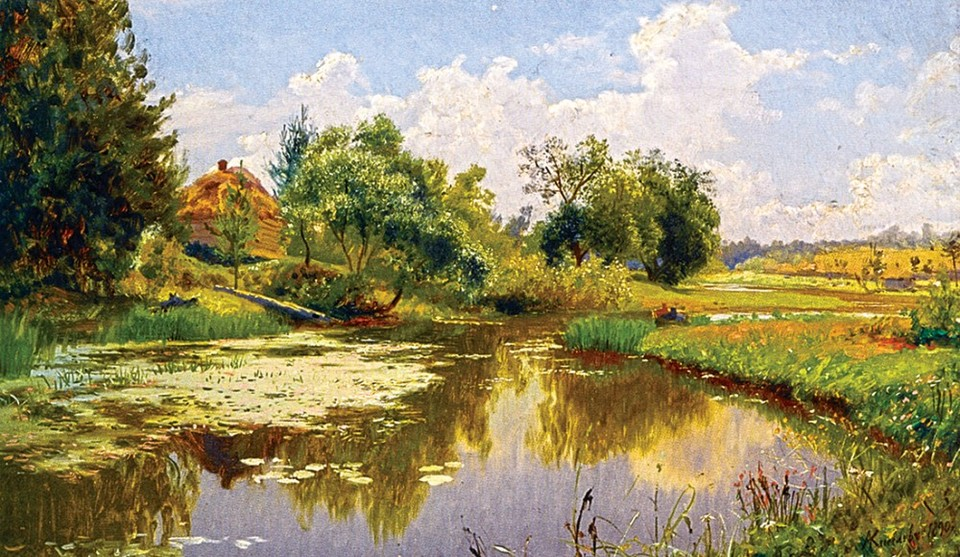 Русский пейзажист Александр Александрович Киселёв