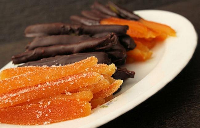 Как сделать необычную апельсиновую сладость