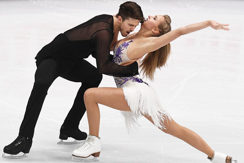 Степанова и Букин стали вторыми после короткого танца