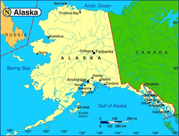 Представитель правительства Аляски заявил, что региону было бы лучше в составе России