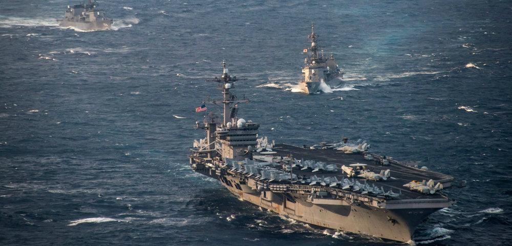 США, Южная Корея и Япония начали совместные учения ВМС