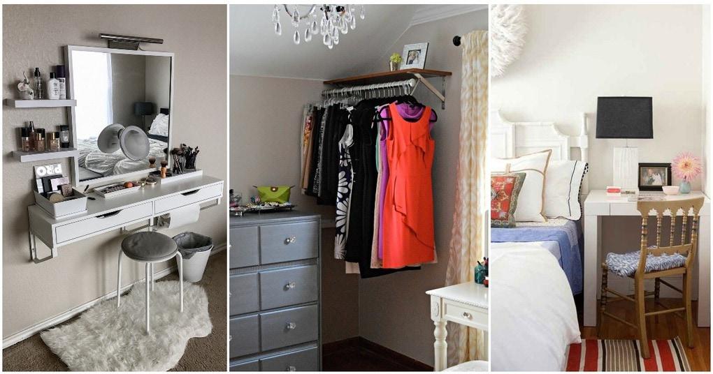 Большие возможности маленькой спальни