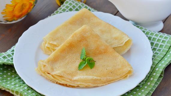Постные блины рецепт с фото пошагово