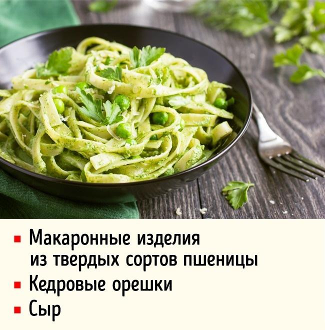 Блюда, которые утолят чувство голода на весь день