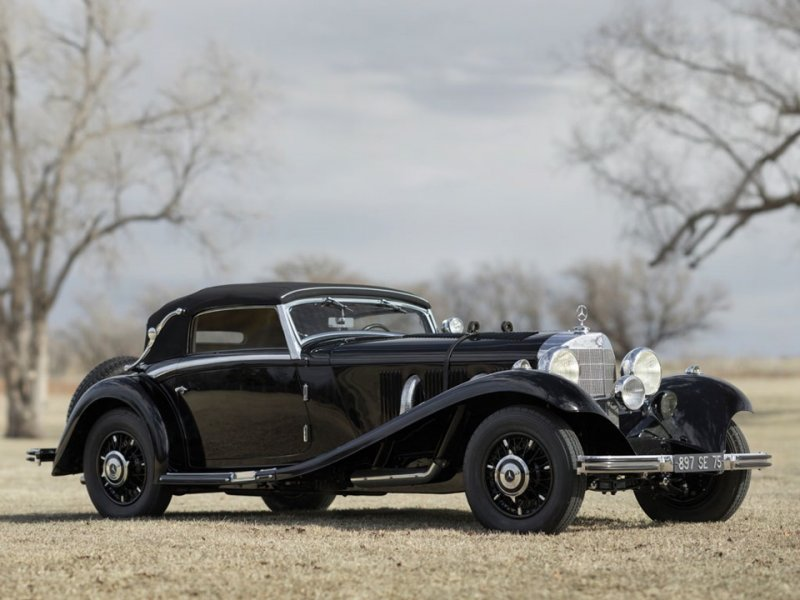 "Mercedes-Benz 540 K Cabriolet ""Туринг-кар"""
