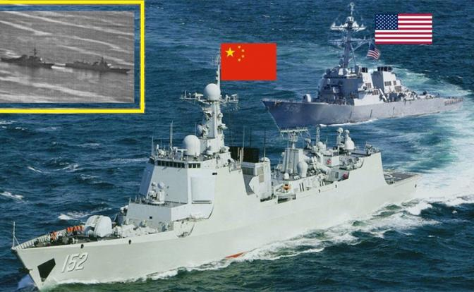 Первое столкновение ВМС США и КНР: Победа за Пекином