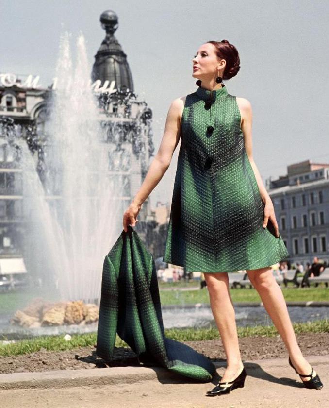 Ретро. Мода и прически 1960-х годов