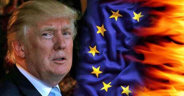 Дело идет к войне: США и ЕС разводятся и делят общие деньги