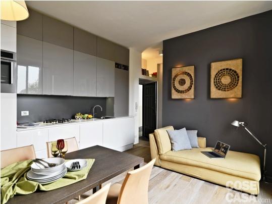 """""""Хрущеба"""" по-итальянски — стильная квартира в Милане (35 кв.м)"""