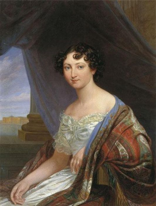 Будкин Ф.О. Портрет великой княгини Анны Павловны, 1846. / Фото: www.gallart.by