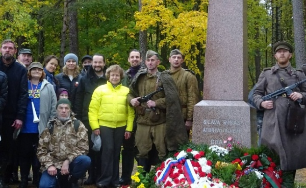ВРиге отметили годовщину освобождения отнацистов