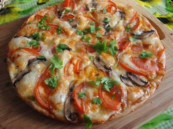 Рецепты салатов с фото пицца