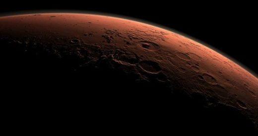 У Марса начинают возникать кольца?