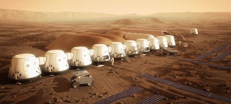 Эксперты уверены, что автономная колония на Марсе невозможна