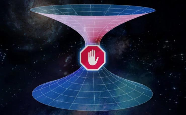 Ученые отвергли идею путешествия через червоточины