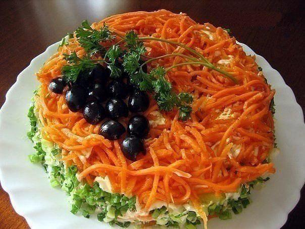 """Салат """"Изабелла"""" - таким салатом  вы без труда удивите  гостей!"""