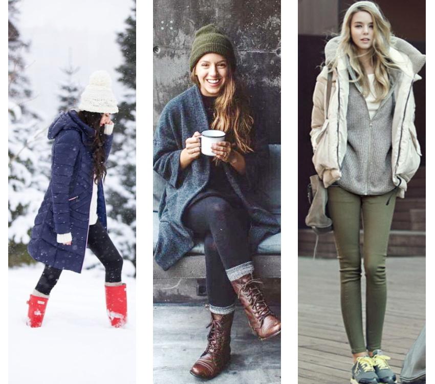 Мода Зимой