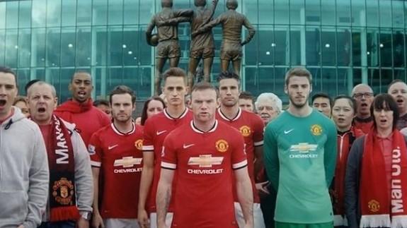 Логотип Chevrolet появится на футболках клуба Manchester United